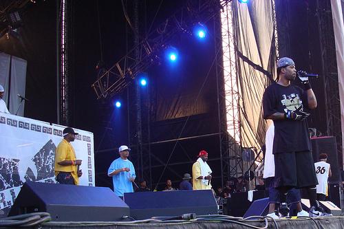 meth onstage