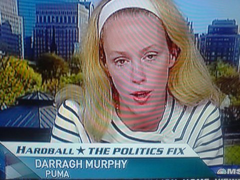 This is not an unfair image taken mid speech. This is what Barragh Murphy looks like even when she isn't spouting complete and utter self absorbed bullshit.