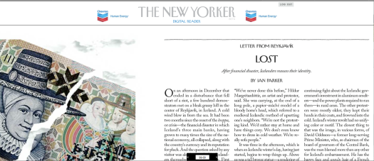 The New Yorker Digital Reader Zooms In.